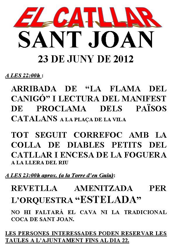 Verbena de San Juan 2012