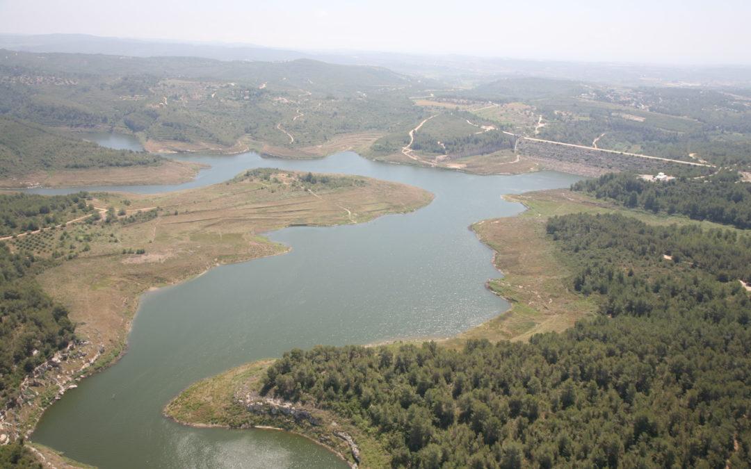 Embassament i vall del riu Gaià