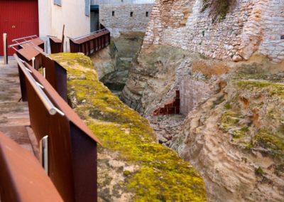 El fossat del castell