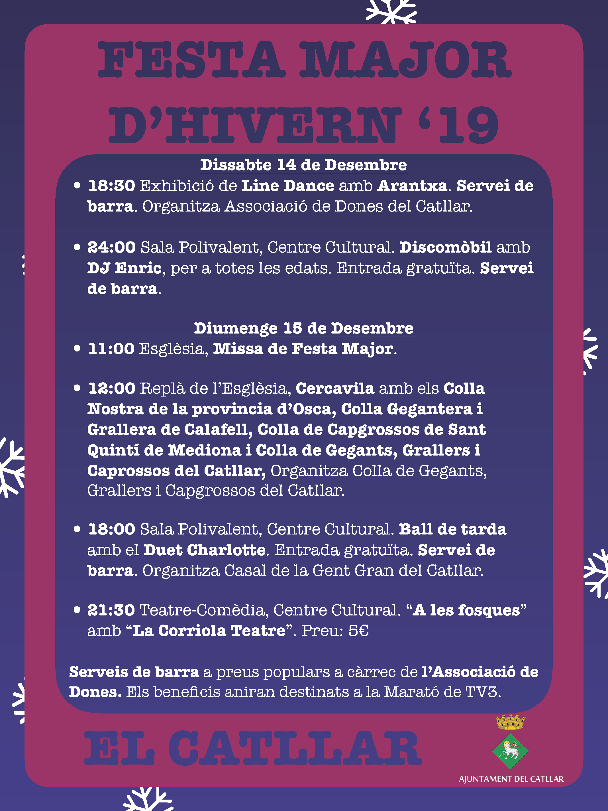FESTA MAJOR D'HIVERN '19