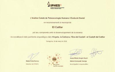 Hem rebut un reconeixement de l'IPHES