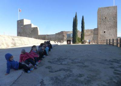 nens visita castell
