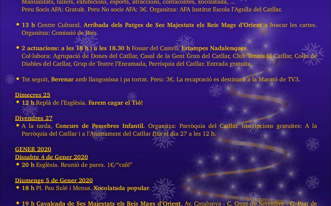ACTIVITATS FESTIVES DE NADAL