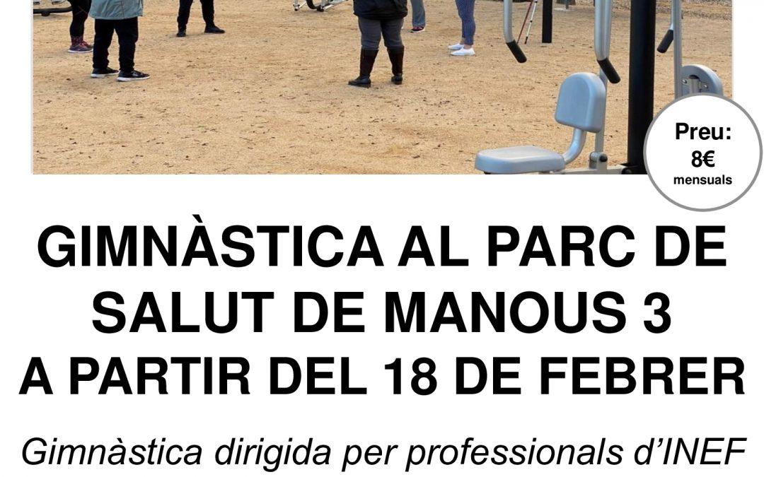 GIMNÀSTICA AL PARC DE SALUT DE MANOUS 3