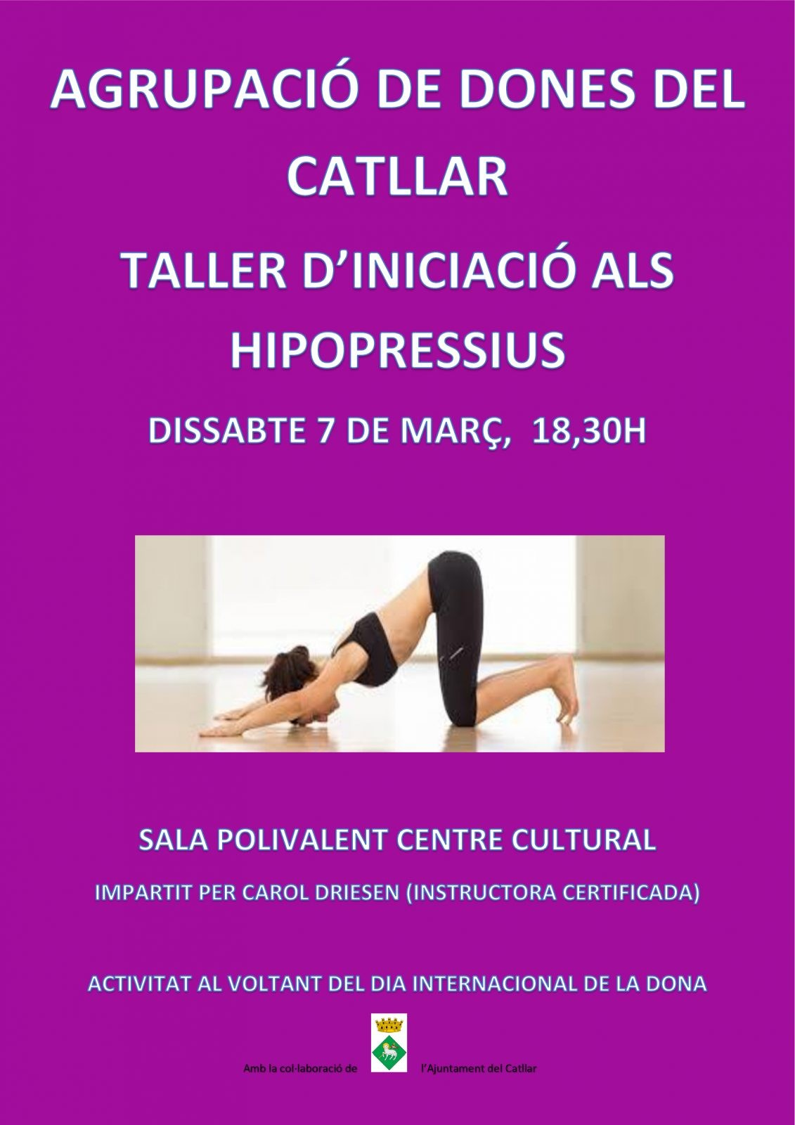 TALLER INICIACIÓ HIPOPRESSIUS