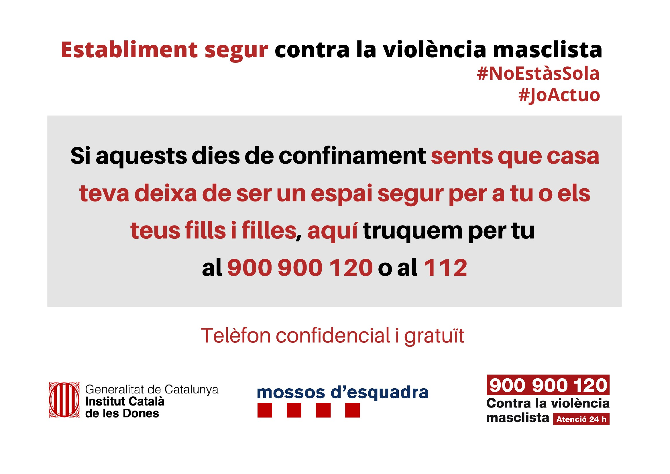 LOCAL SEGURO CONTRA LA VIOLENCIA DE GÉNERO