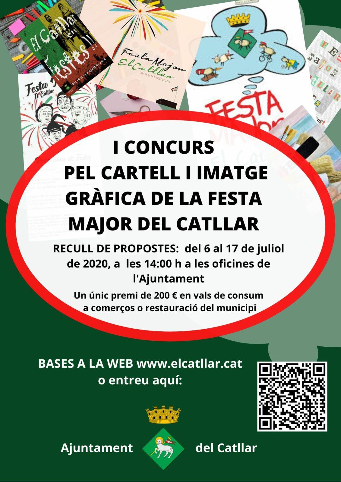 I CONCURS DEL CARTELL I LA IMATGE GRÀFICA DE LA FESTA MAJOR