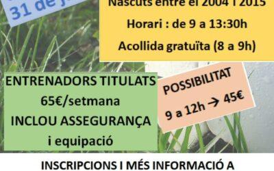 CAMPUS D'ESTIU 2020 CLUB ESPORTIU EL CATLLAR