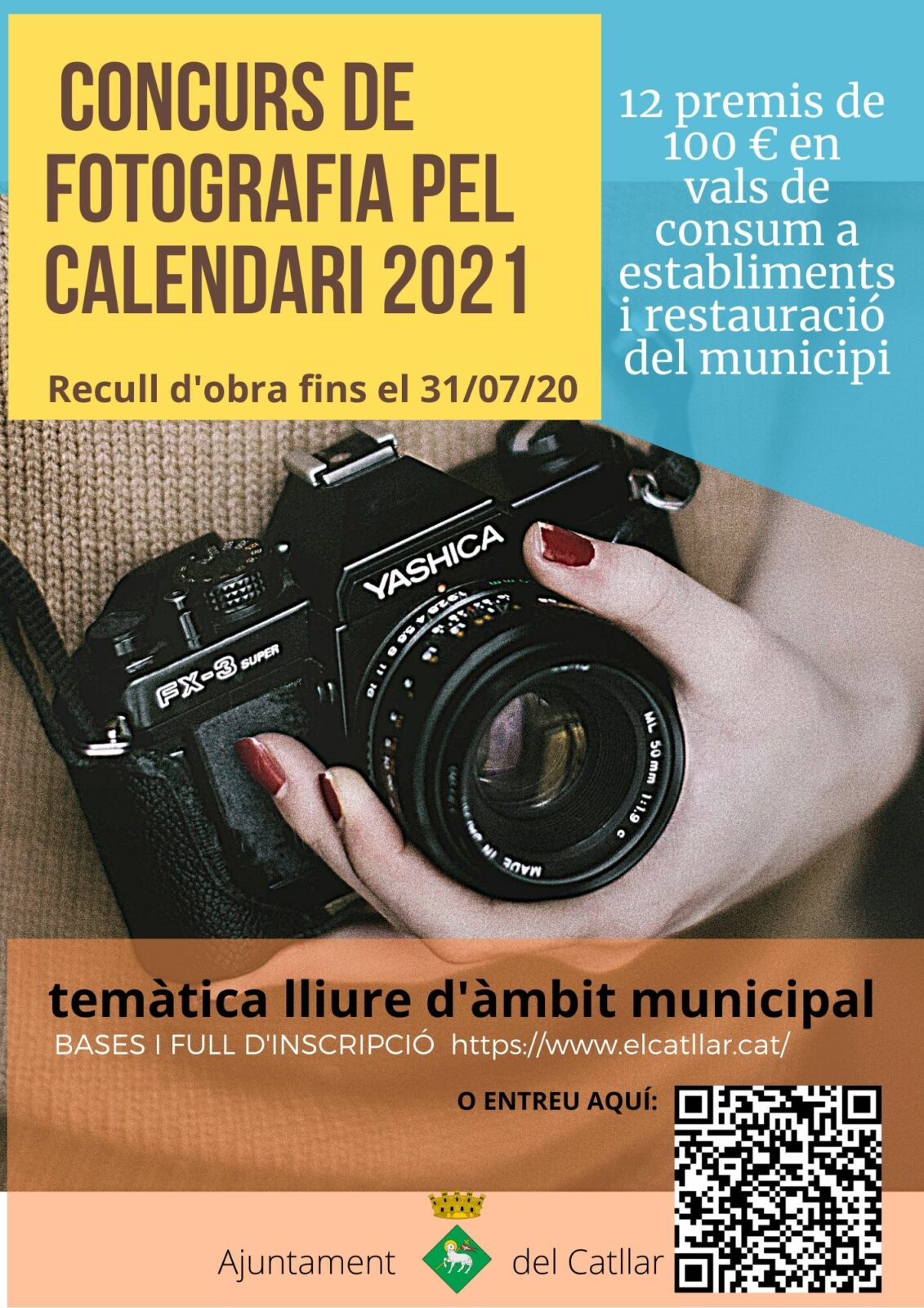 CONCURS DE FOTOGRAFIA PEL CALENDARI 2021