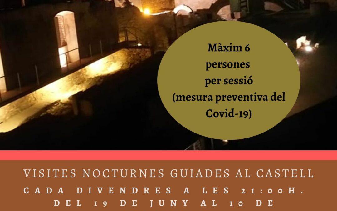 CASTELL DEL CATLLAR, VISITES NOCTURNES