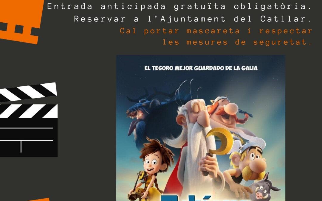 """CINEMA A LA FRESCA 2020: """"ASTÉRIX, EL SECRETO DE LA POCIÓN MÁGICA""""   (LA CATIVERA)"""