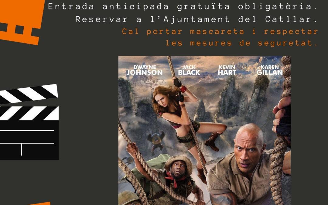 "CICLE CINEMA A LA FRESCA: 31 DE JULIOL   ""JUMANJI, SIGUIENTE NIVEL"" (ESPLAI TARRAGONÍ)"