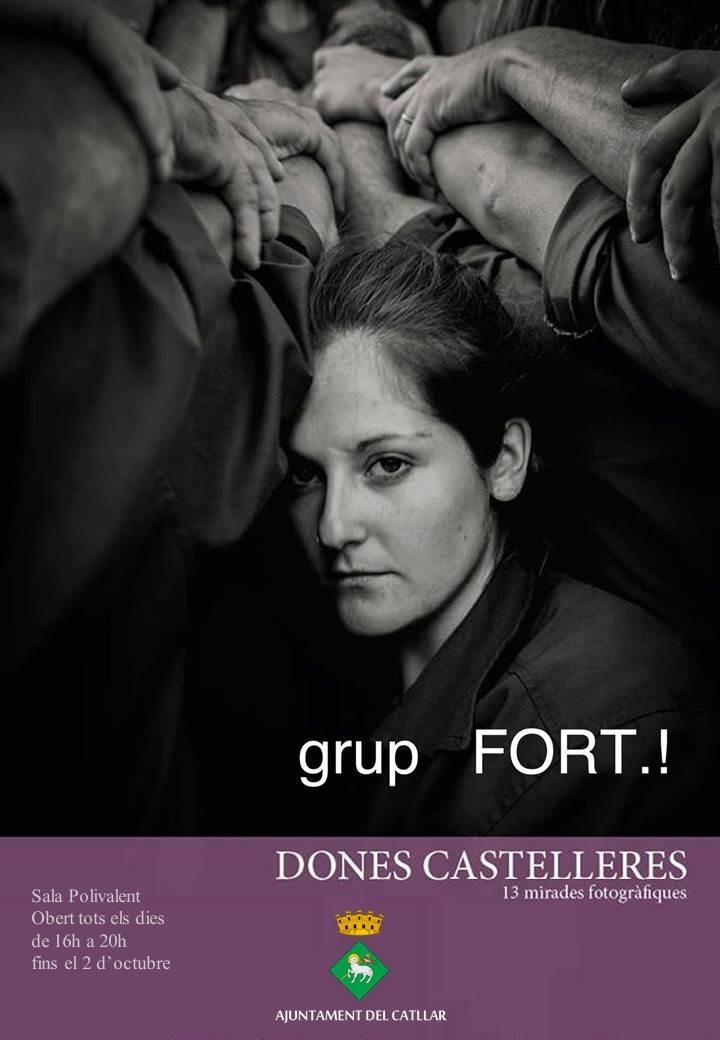 """EXPOSICIÓN DE FOTOGRAFÍA """"MUJERES CASTELLERAS"""""""