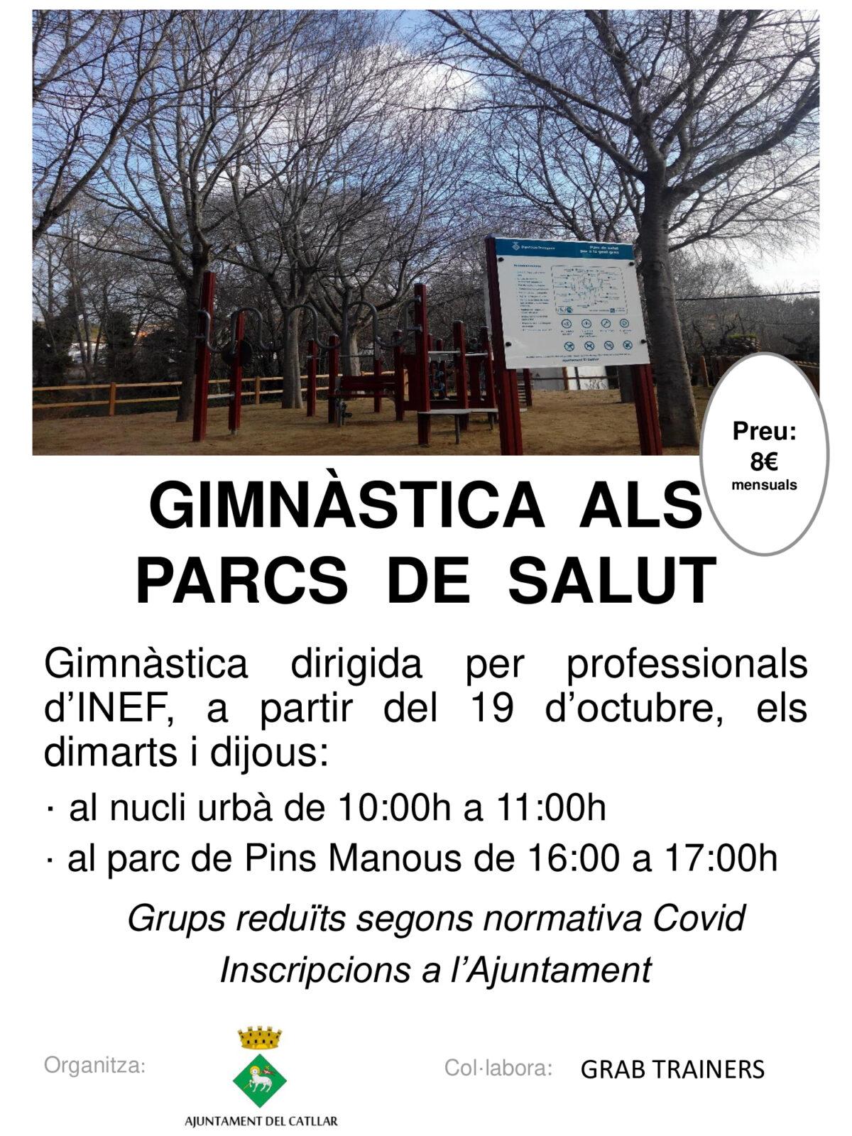 GIMNÀSTICA ALS PARCS DE SALUT