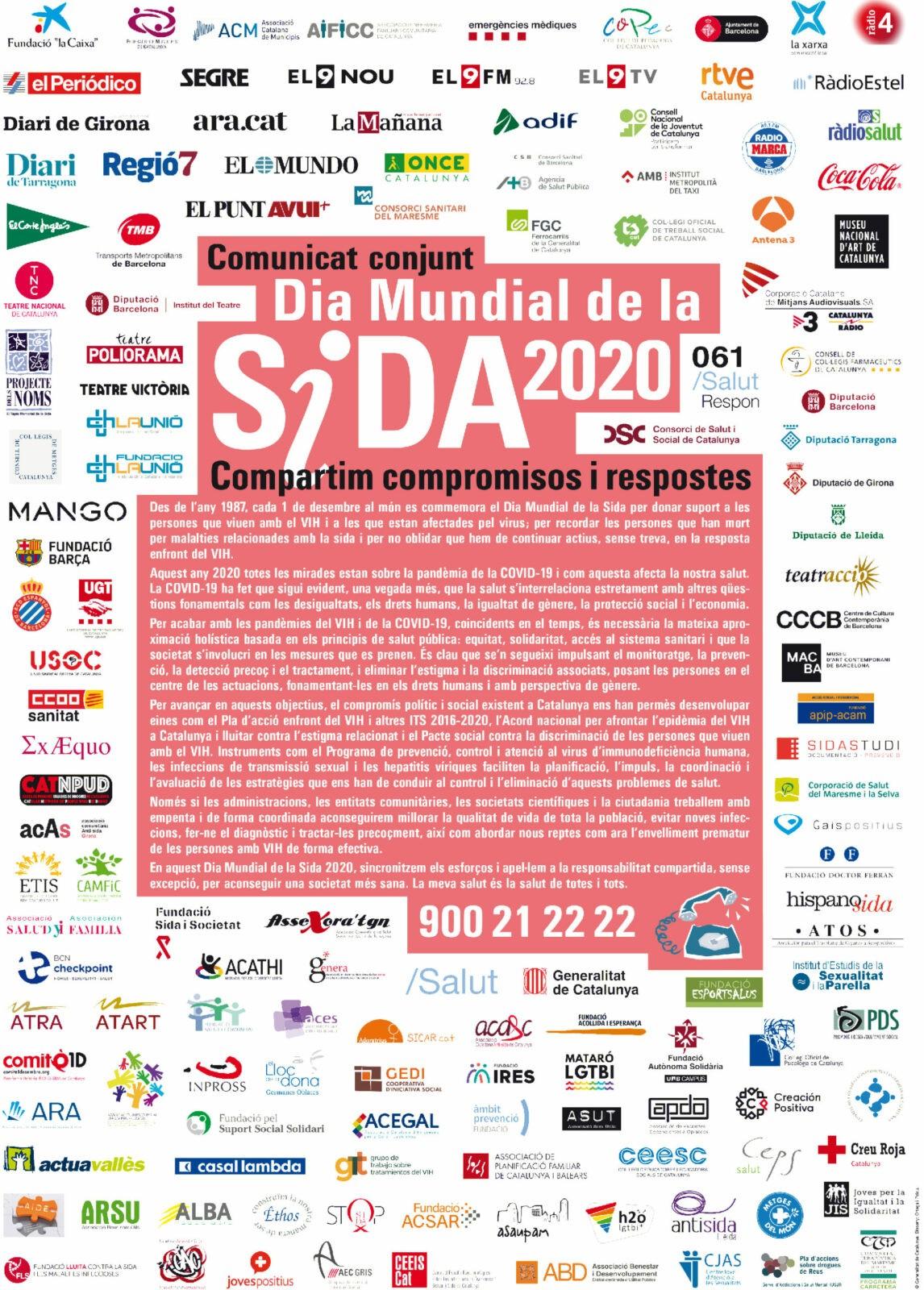 DIA MUNDIAL DE LA SIDA 2020