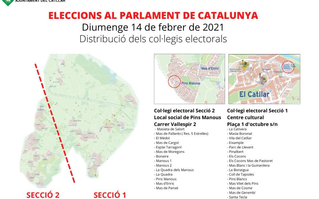 DISTRIBUCIÓN CORRECTA COLEGIOS ELECTORALES DEL CATLLAR