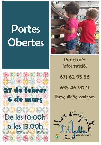 PORTES OBERTES LLAR D'INFANTS MUNICIPAL L'AGULLA