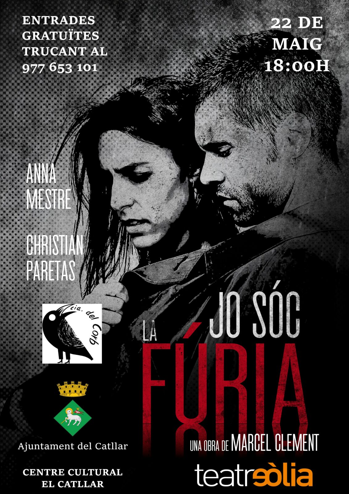 """OBRA DE TEATRE - """"JO SÓC LA FÚRIA"""""""
