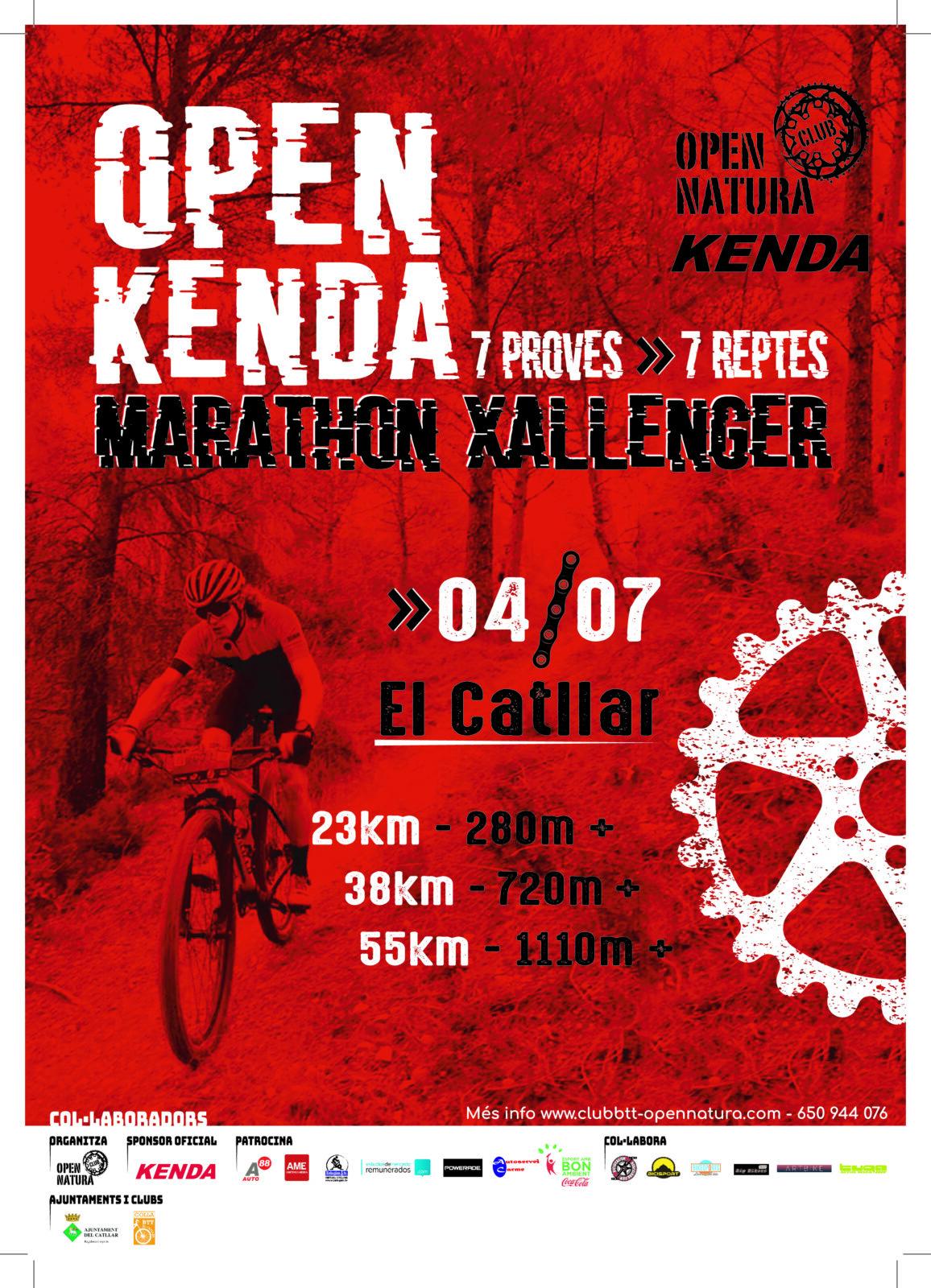 OPEN KENDA – MARATHON XALLENGER