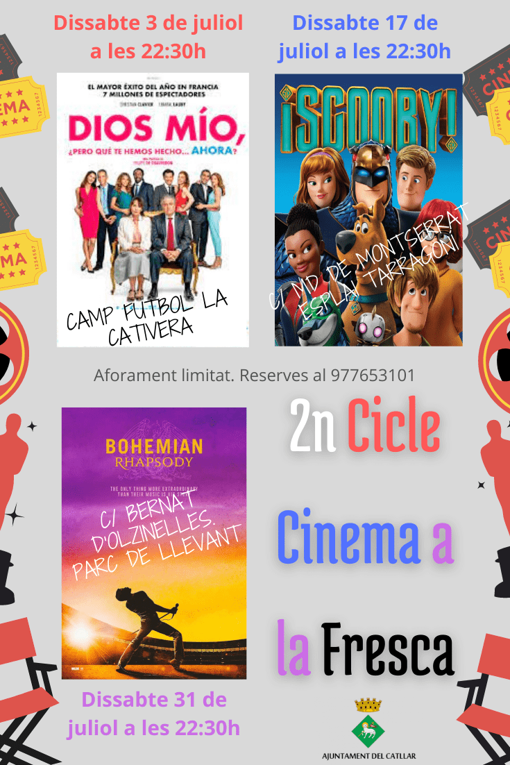 II CICLE DE CINEMA A LA FRESCA