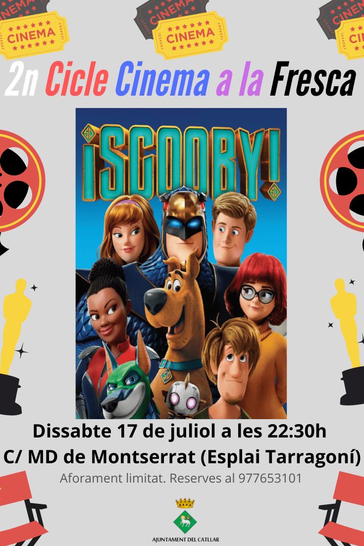 """II CICLE DE CINEMA A LA FRESCA - """"SCOOBY"""""""