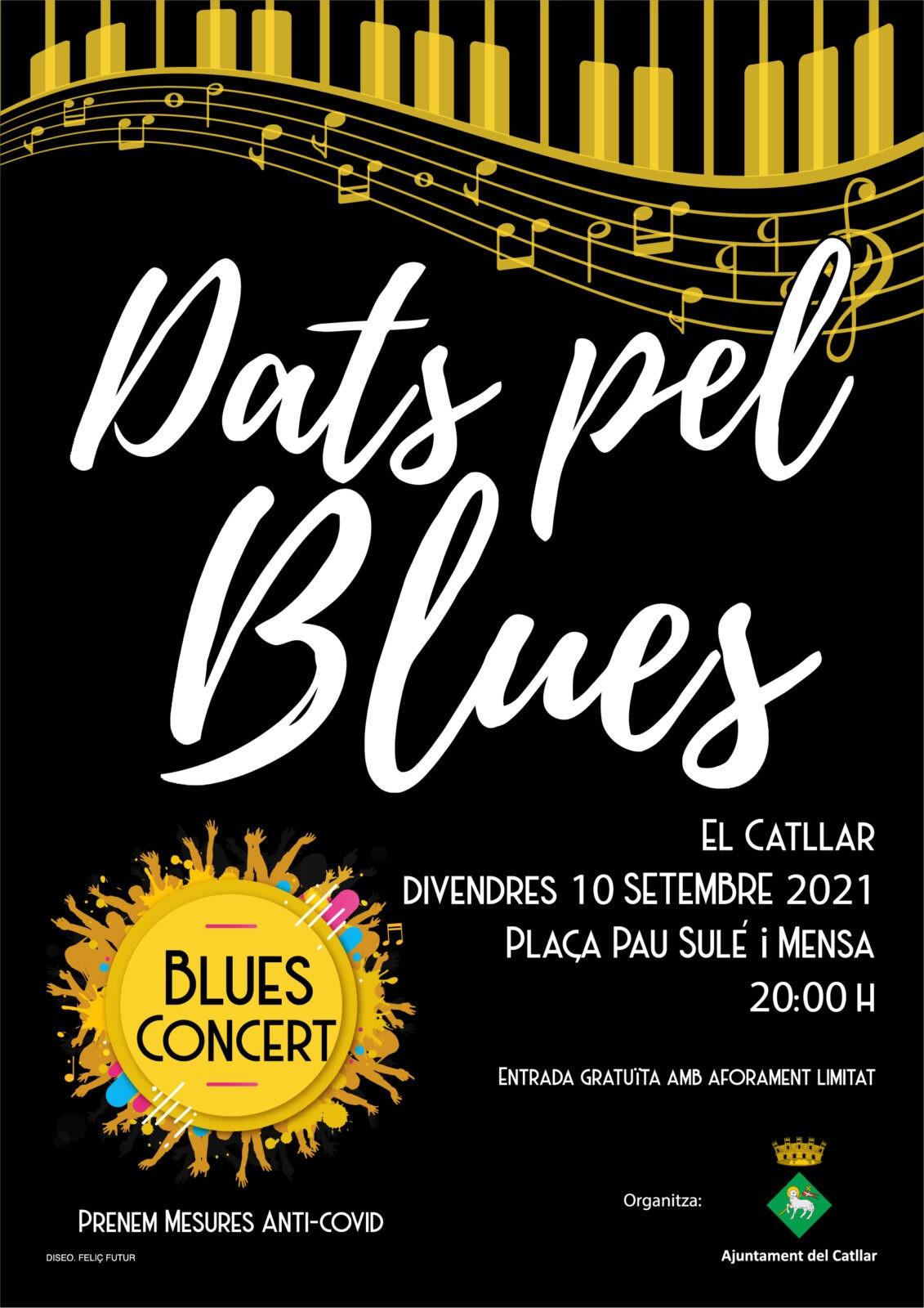 """CONCERT DE BLUES: """"DATS PEL BLUES"""""""