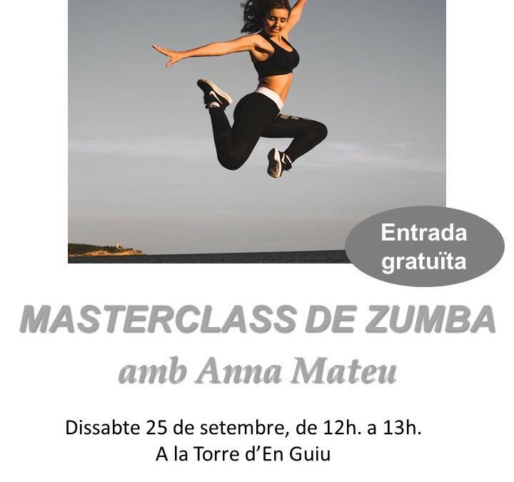 MASTERCLASS DE ZUMBA CON ANNA MATEU