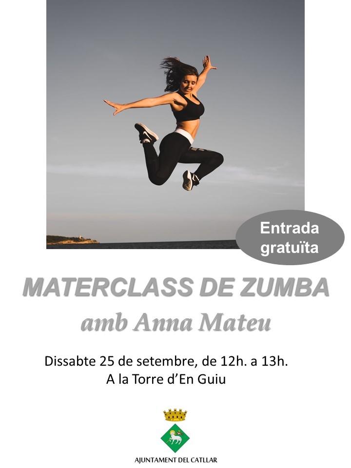 MASTERCLASS DE ZUMBA AMB ANNA MATEU