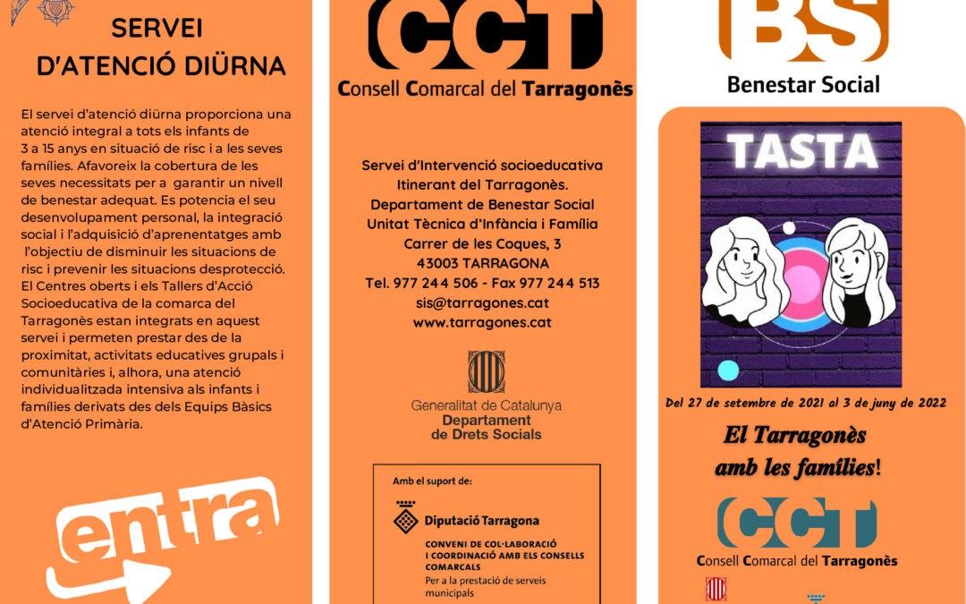 T.A.S.T.A: TALLERES DE ACCIÓN SOCIOEDUCATIVA DEL TARRAGONÉS