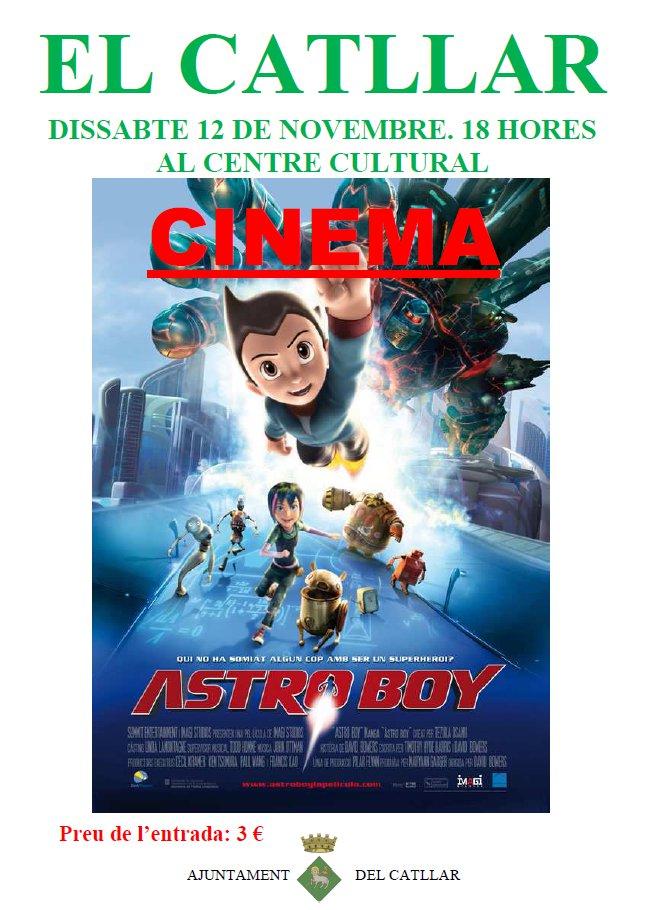 """Cinema al Centre cultural """"Astroboy"""""""