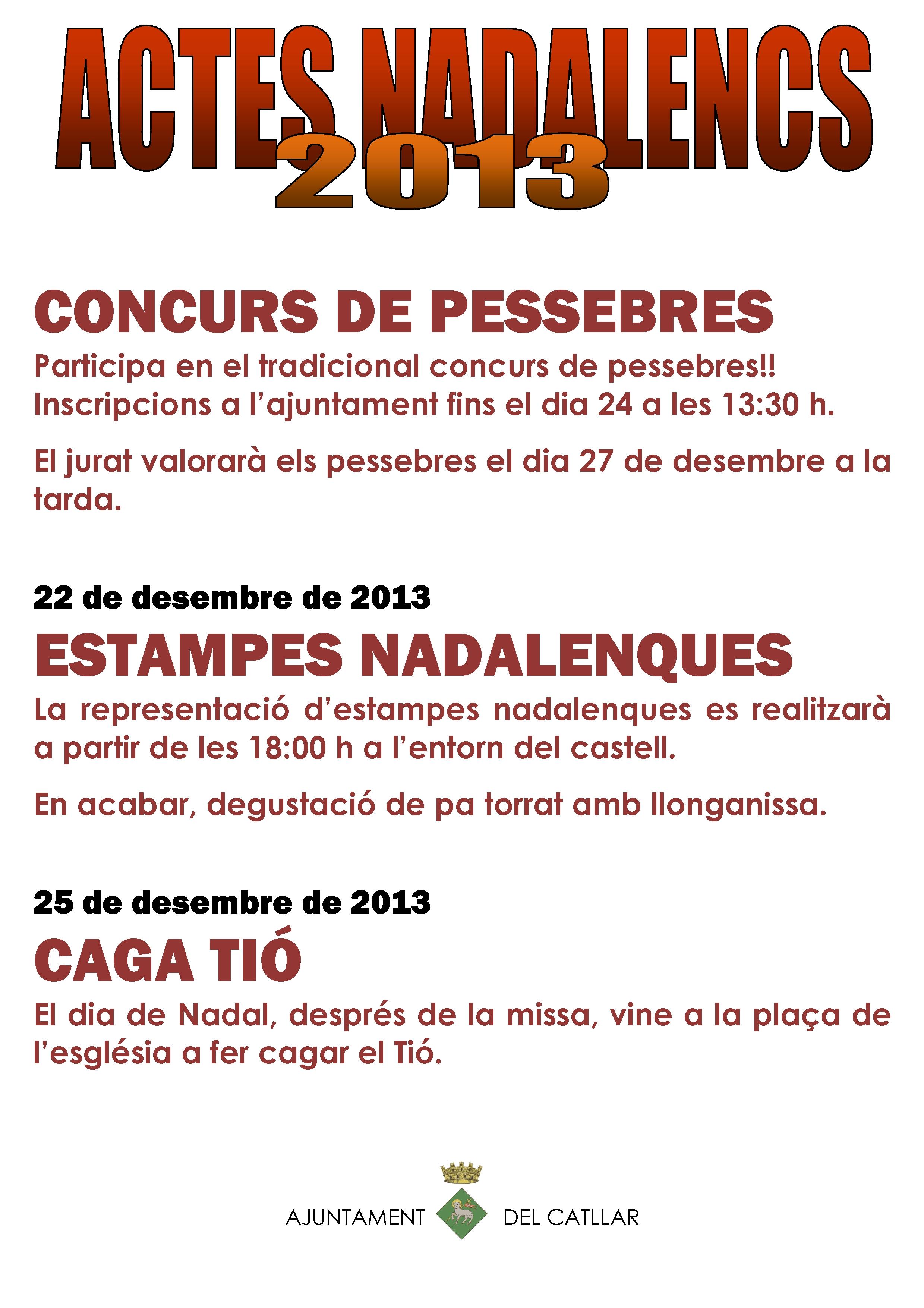 ACTOS NAVIDEÑOS 2013