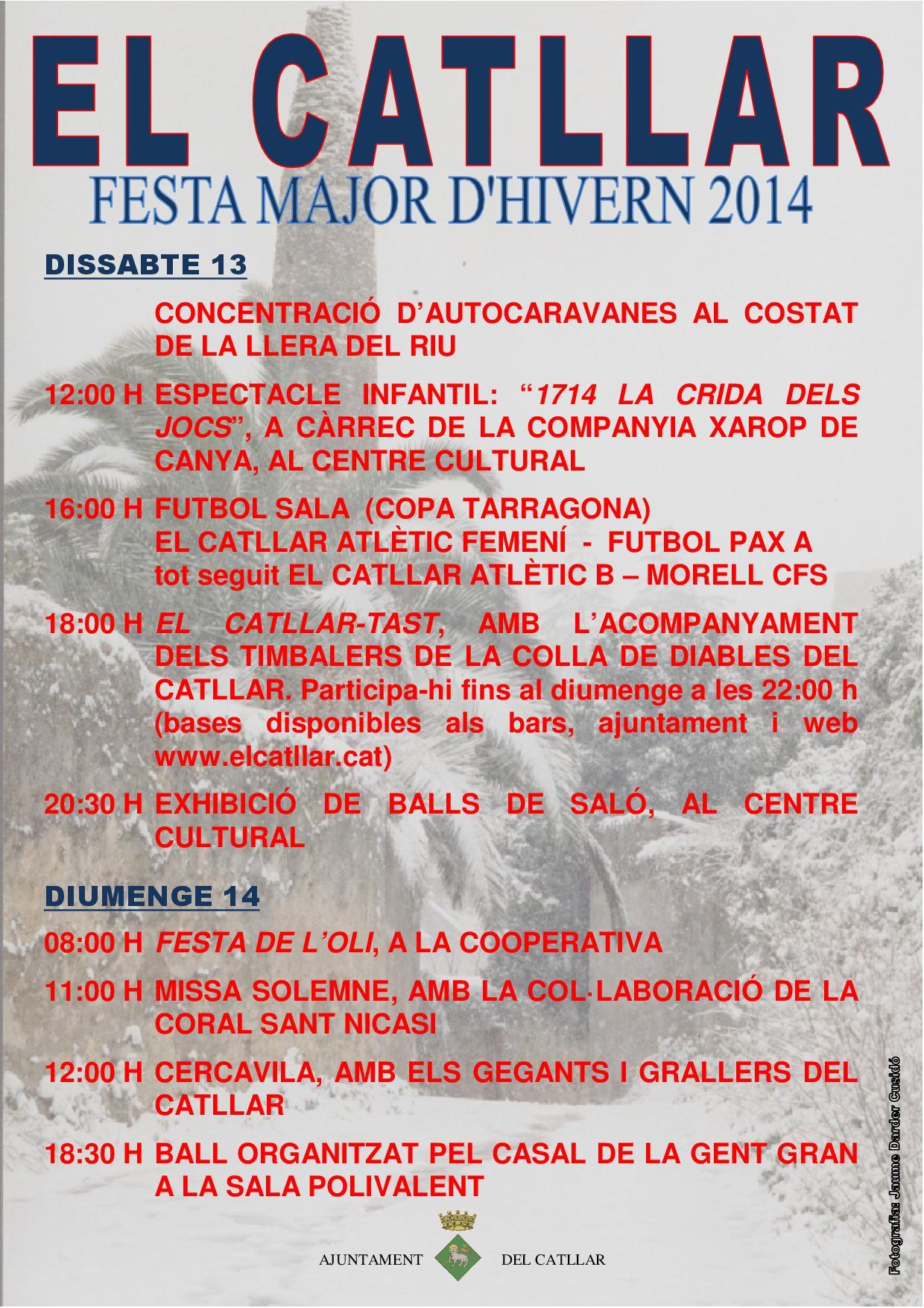 FIESTA MAYOR DE INVIERNO 2014