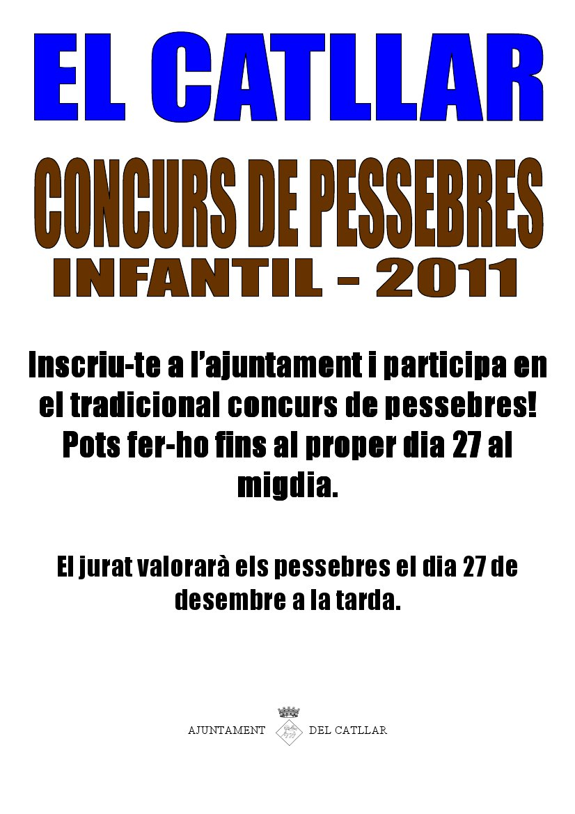 Concurs de Pessebres