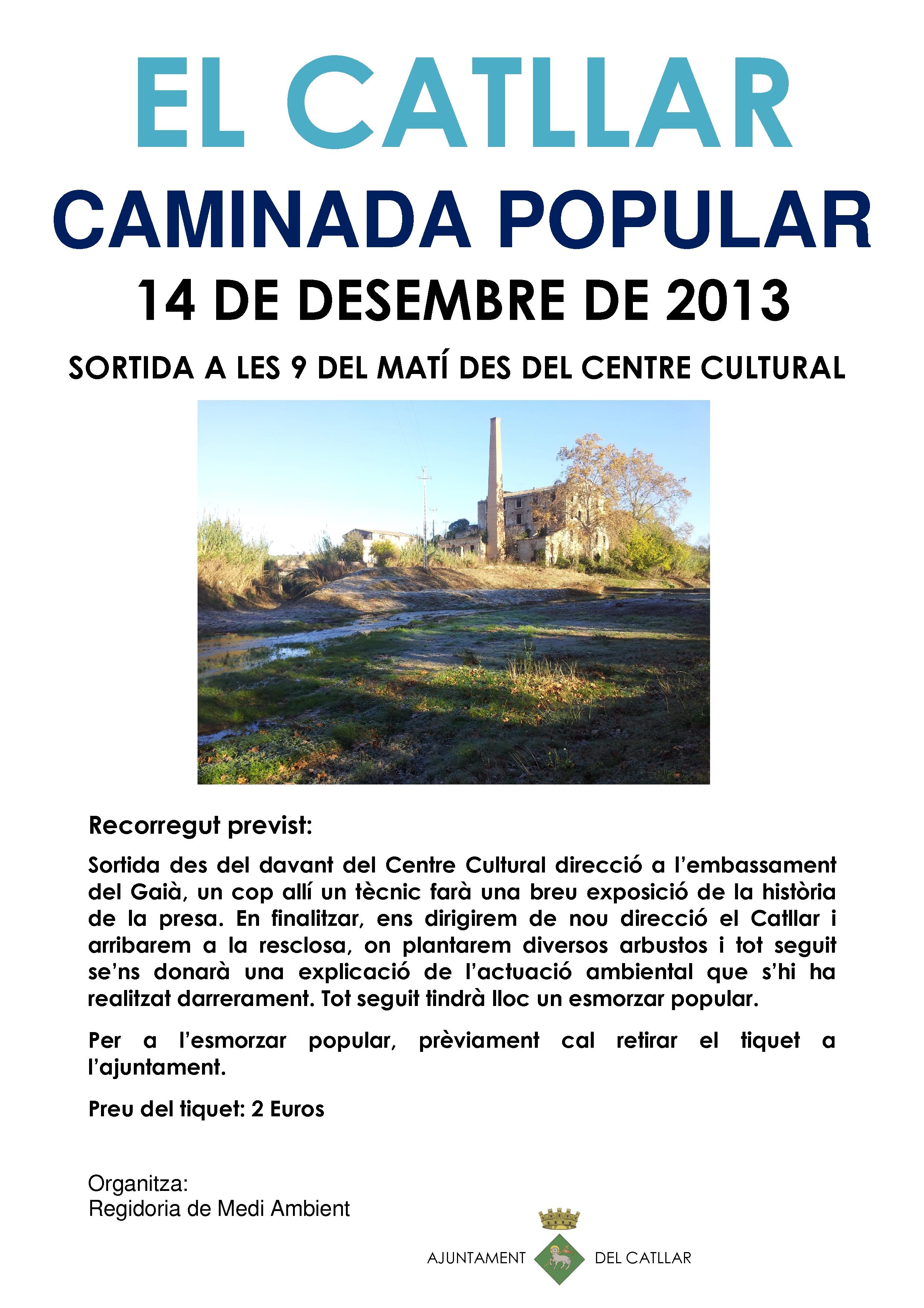CAMINATA POPULAR FIESTA MAYOR