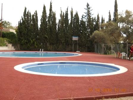 Noves piscines a Mas de Pallarès