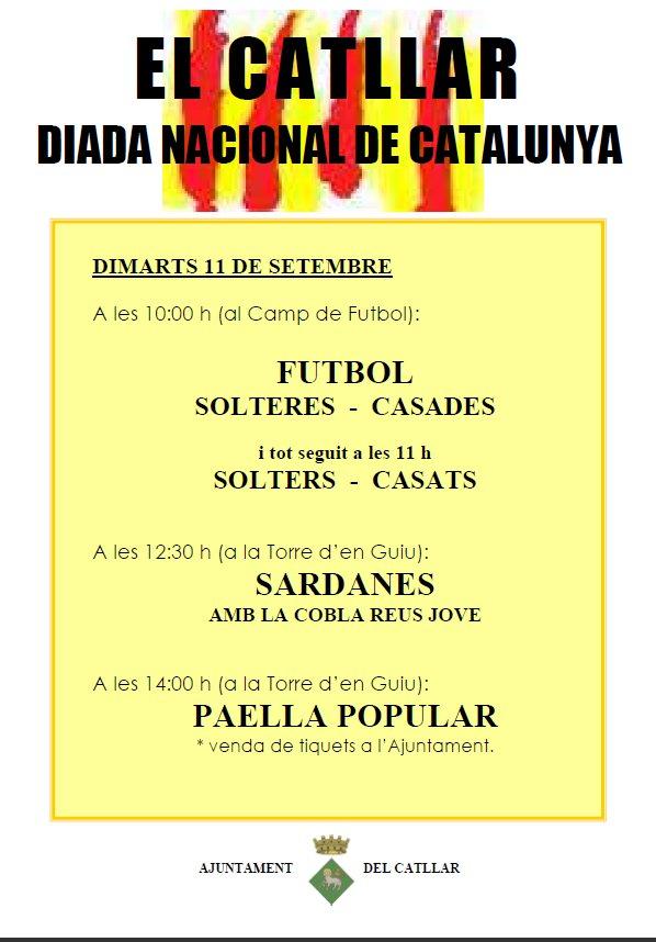 DIADA NACIONAL DE CATALUÑA