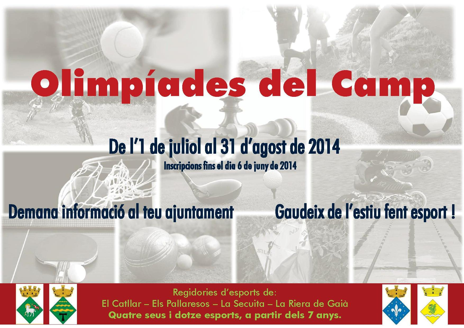 II OLIMPIADAS DEL CAMP