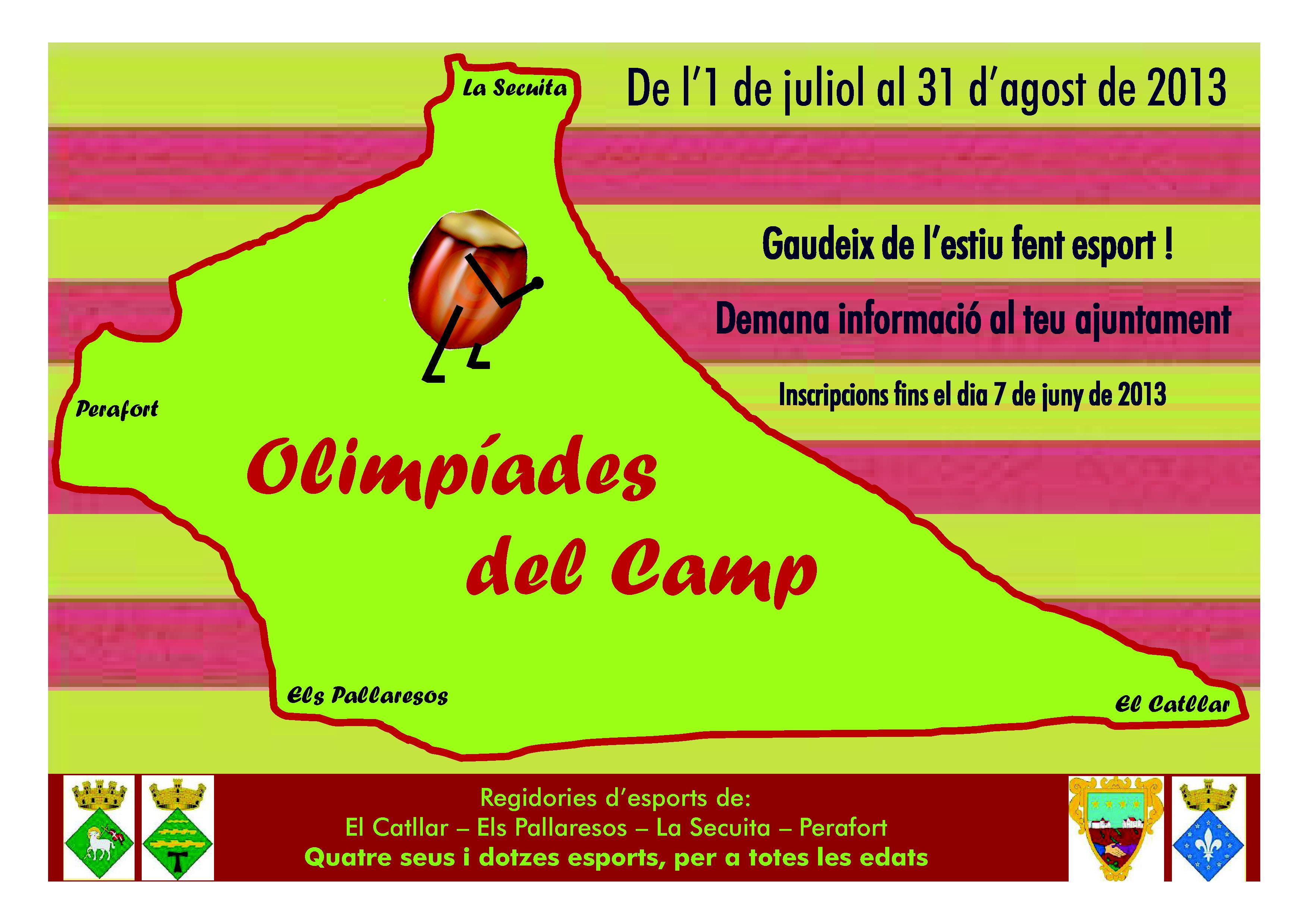"OLIMPIADAS DEL ""CAMP"""
