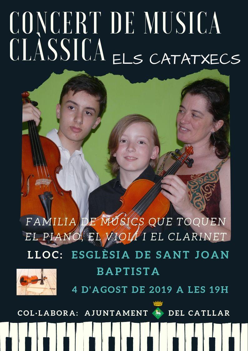 """CONCERT DE MÚSICA CLÀSICA """"ELS CATATXECS"""""""