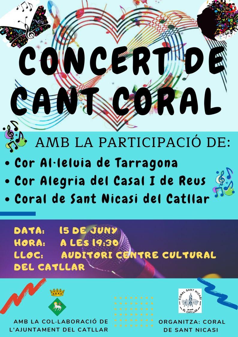 CONCERT DE CANT