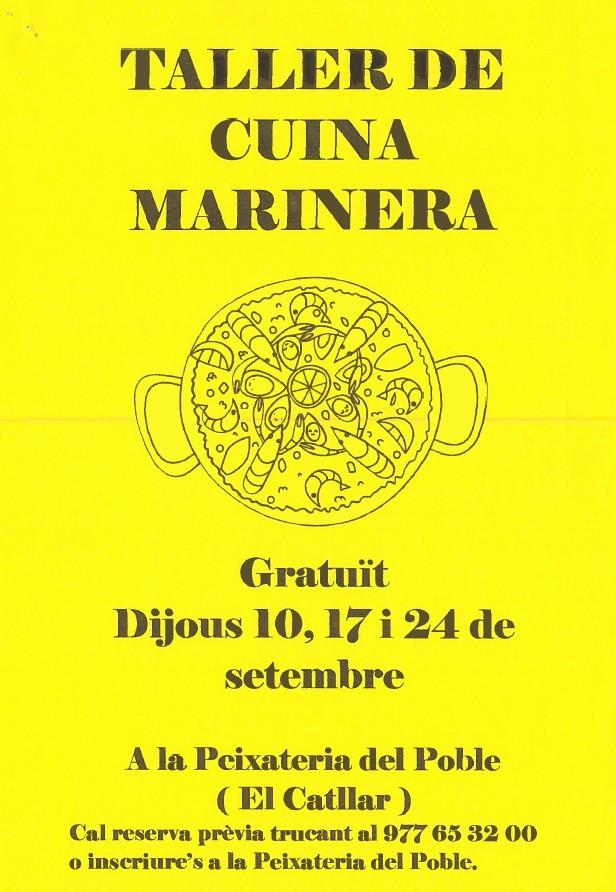 TALLER DE COCINA MARINERA
