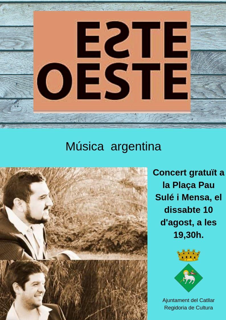 CONCERT DE MÚSICA ARGENTINA