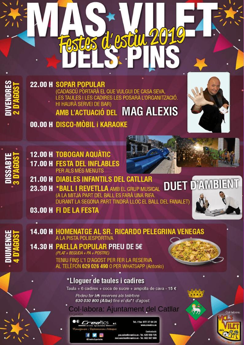 FESTES DE MAS VILET DELS PINS