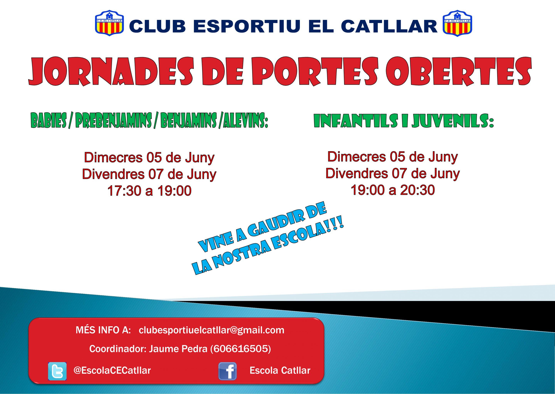 Jornada de portes obertes CLUB ESPORTIU EL CATLLAR