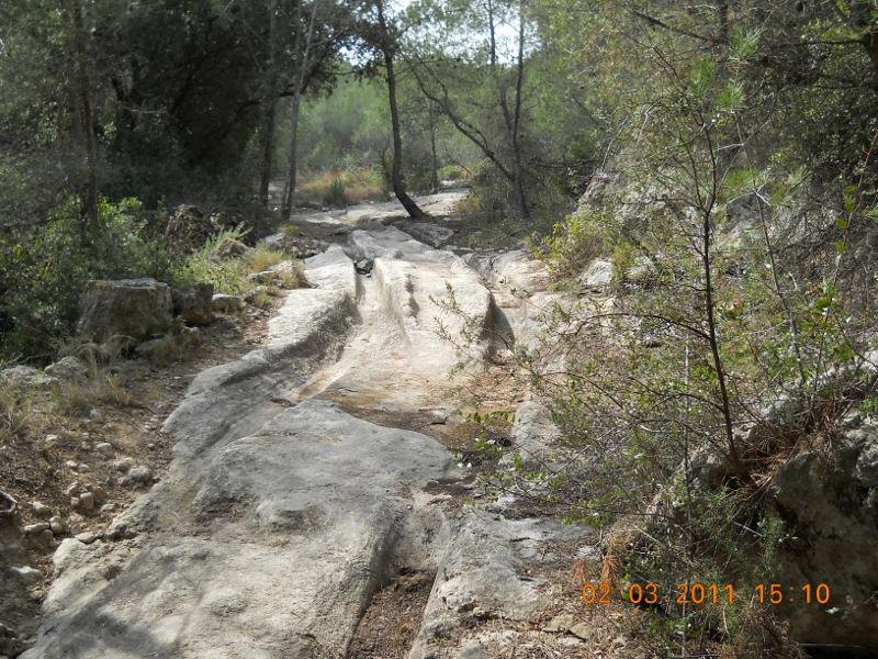 Ruta Rosa – Camino fondo de Mas Pasqual