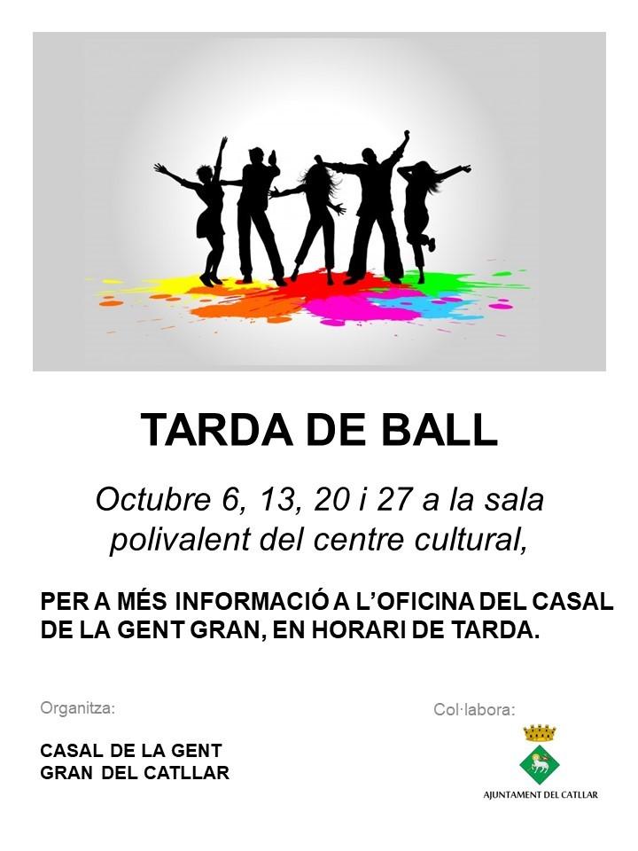 Tarda de ball a l'octubre