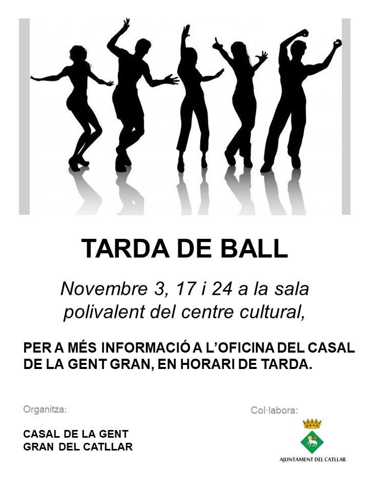 Tarda de ball al novembre