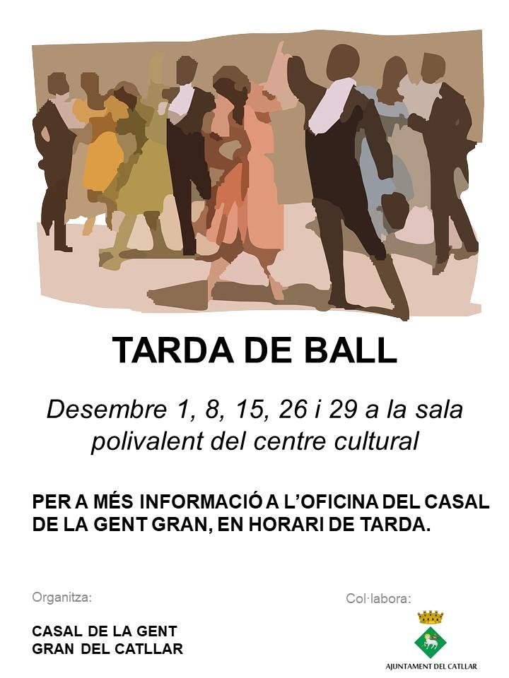 Tarda de ball al desembre