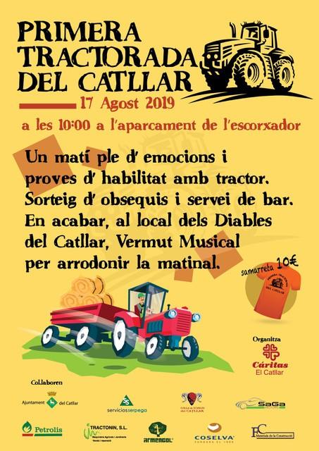 TRACTORADA DEL CATLLAR