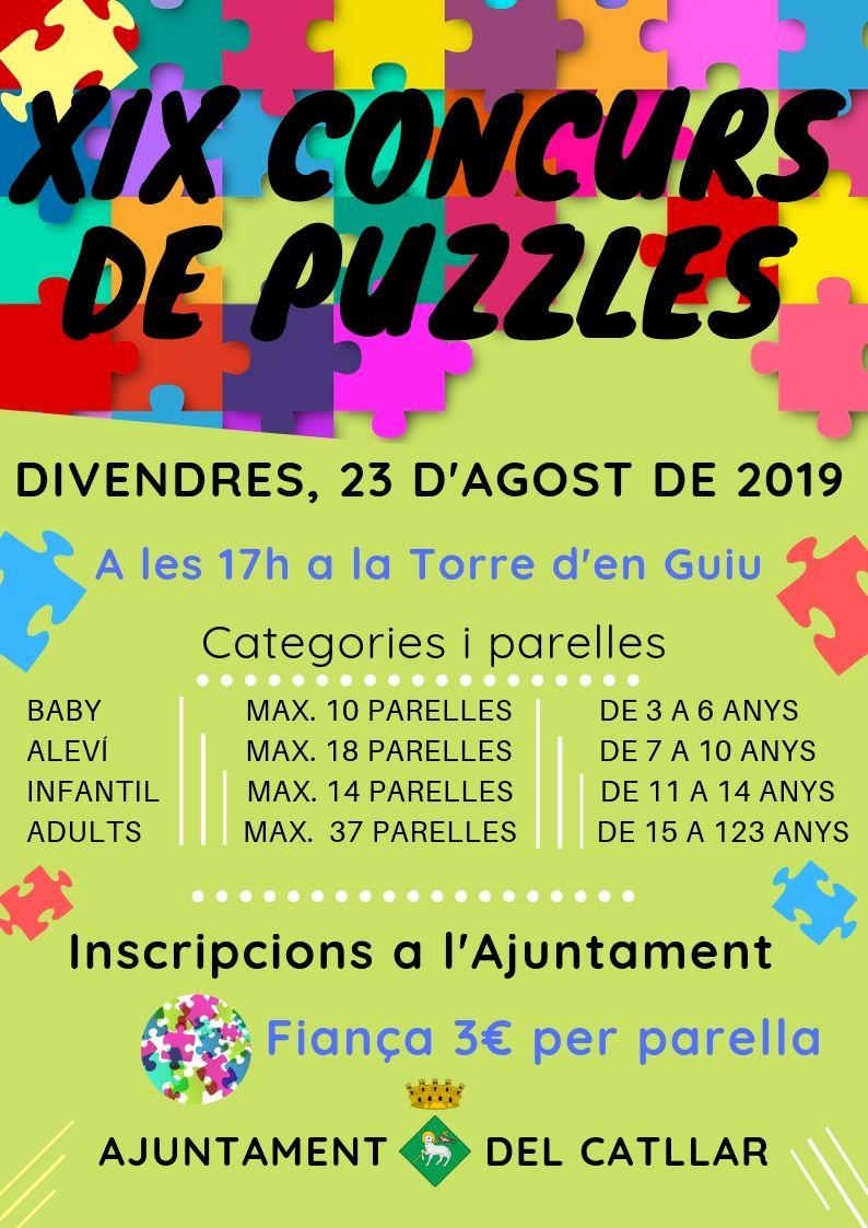 XIX CONCURS DE PUZZLES
